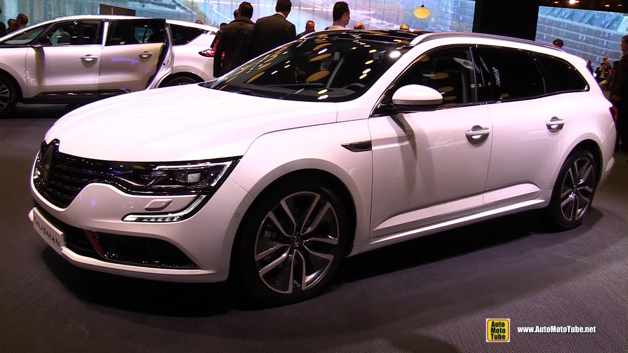 2017 renault talisman estate exterior and interior walkaround 2016 paris motor show youtube. Black Bedroom Furniture Sets. Home Design Ideas