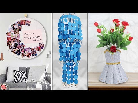 8 Homemade DIY Craft Ideas !!! Home Decor Things
