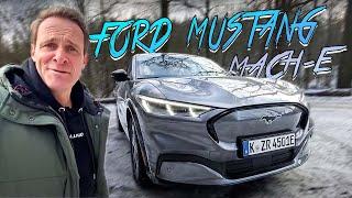 Ford Mustang Mach-E   Der Elektro-Schocker   Autobahn, Zeiten, Hausstrecke   Matthias Malmedie
