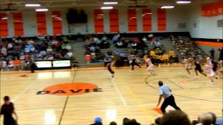 Davie vs RJR highlight: Austin Hatfield spin move & alley to Cody Martin