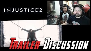 Injustice 2 Story - AJ Reaction & Roster/Gear Analysis
