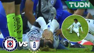 ¡ESPELUZNANTE lesión del 'Burrito'! | Cruz Azul vs Pachuca | Guard1anes2020 Liga BBVA MX - J9 |TUDN