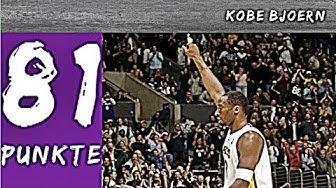 81 Punkte!! Kobe Bryants größtes Spiel (200 Abonnenten Special) - Kobe Bjoern