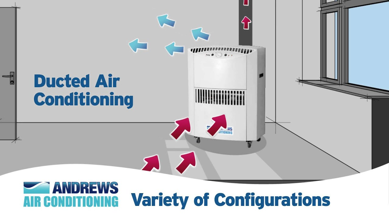 how portable air conditioners work - youtube