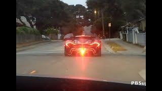 ซิ่งตามไฮเปอร์คาร์ McLaren P1 ราคา 200 ล้าน !!! | Monterey Car Week 2017