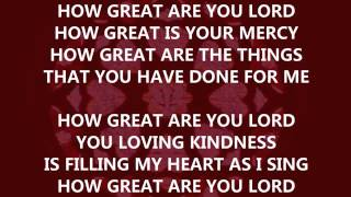 How great are You Lord (instrumental,  backing track)