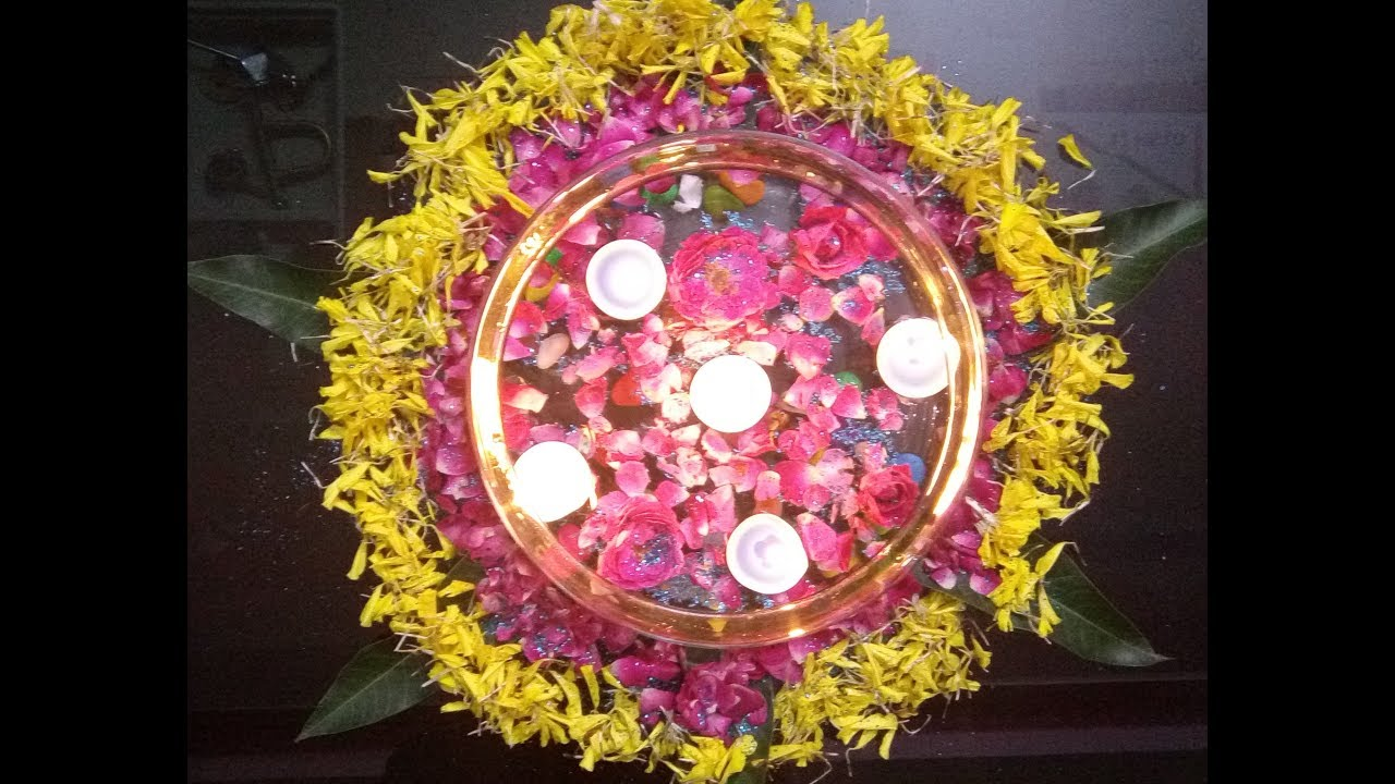 Indian Traditional Center Table Decoration Ideas For Diwali 1 Its Makeover Tym