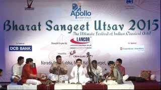 Bharat Sangeet Utsav  2015 | Grand Carnatic Vocal | Vidwan Saketharaman