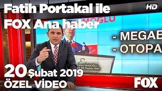 Erdoğan, Ankara'nın iki ilçesinde halka seslendi! 20 Şubat 2019 Fatih Portakal ile FOX Ana Haber