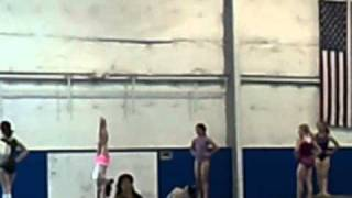 The World's Longest Handstand on Beam