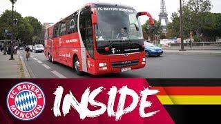 So sieht's im FC Bayern Mannschaftsbus aus! 🚌  - Teil 1 | Inside FC Bayern