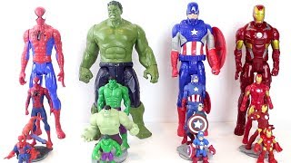 Spiderman & Marvel Avengers Toys Transform to Giant Size Figures