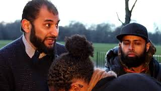 Speakers Corner Christian Women Trying Hard To Give In P1 [03 Feb 2019 Hyde Park]