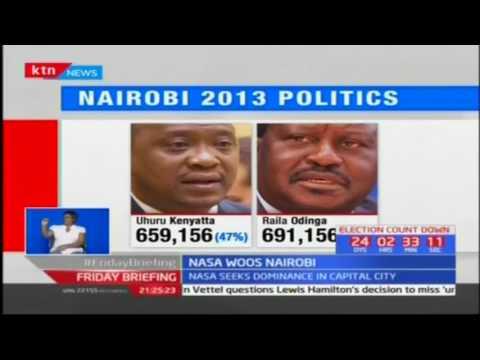 NASA condemns political intolerance as it woos Nairobi voters