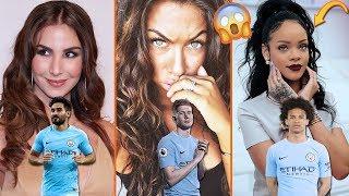 أجمل زوجات أشهر لاعبي مانشستر سيتي .. ريهانا | Rihanna