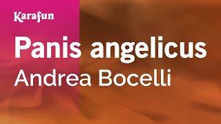 Karaoke Panis angelicus - Andrea Bocelli *