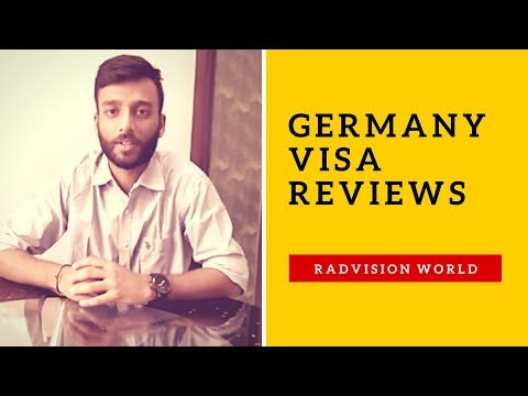 Radvision World Consultancy Services LLP Reviews - A Client Review for Germany Visa