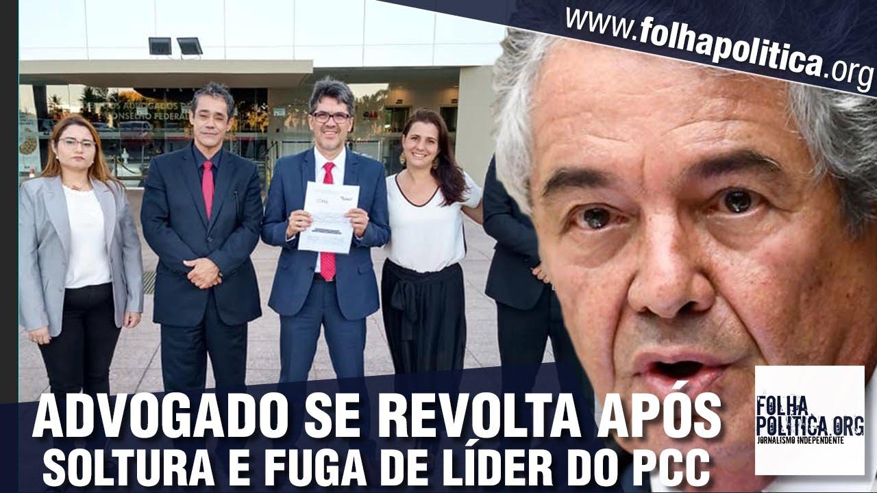 Advogado de cidadãos presos a mando de Alexandre de Moraes desabafa sobre libertação de chefe do PCC