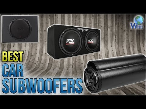 10 Best Car Subwoofers 2018