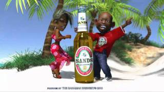 "Sands Beer ""Hangin' with your friends"""