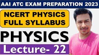 #AAI JUNIOR EXECUTIVE #ATC & #AO (EXAM PREPARATION DAY 31) // {WAVE OPTICS PART-3}