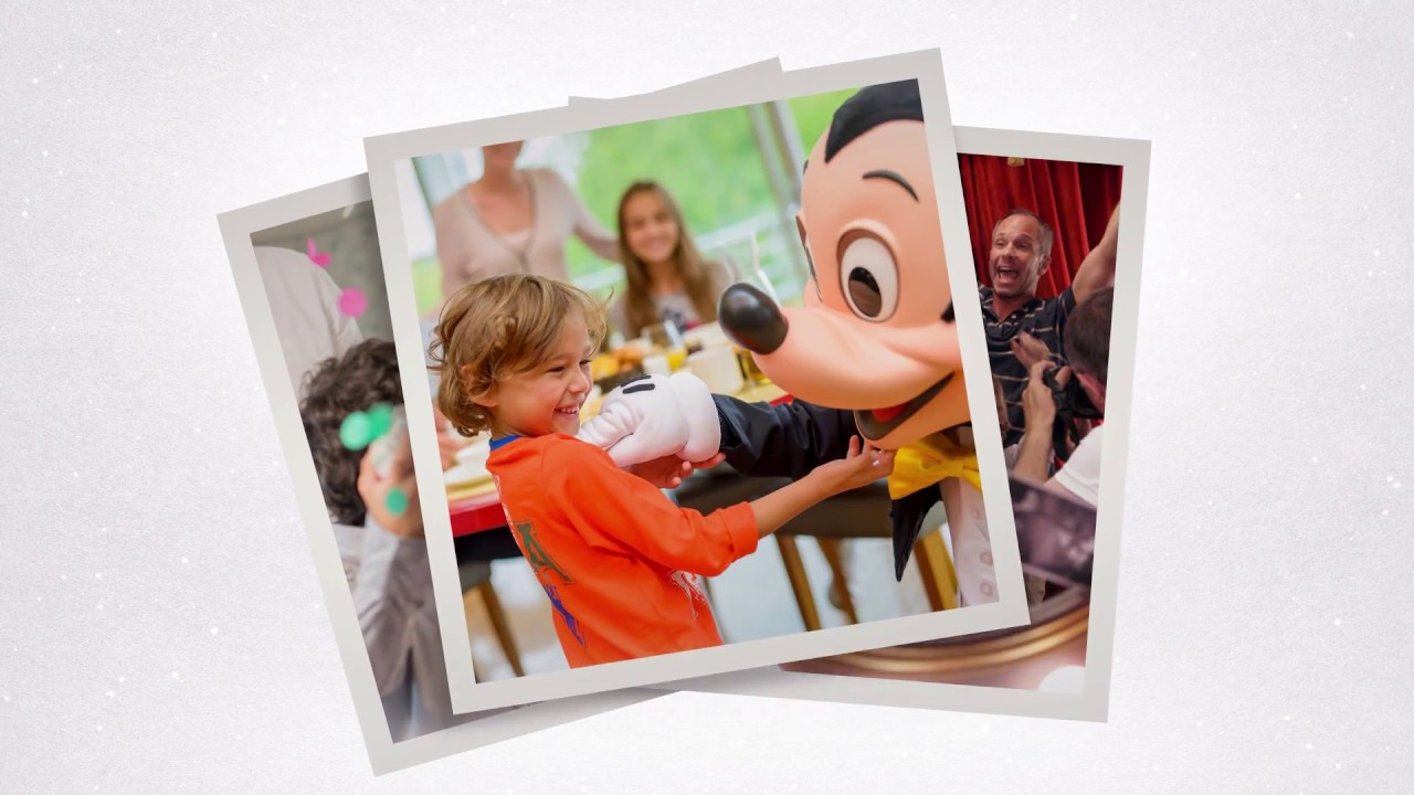 New Signature Celebration Package at Disneyland Paris