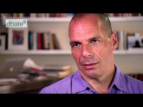 """Yanis Varoufakis: """"Schäuble hatte kein Grexit-Mandat"""" (dbate-Interview)"""