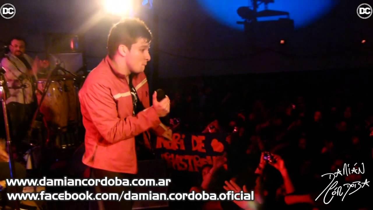 Damian Cordoba: Damián Córdoba En Bell Ville 19/07/2013