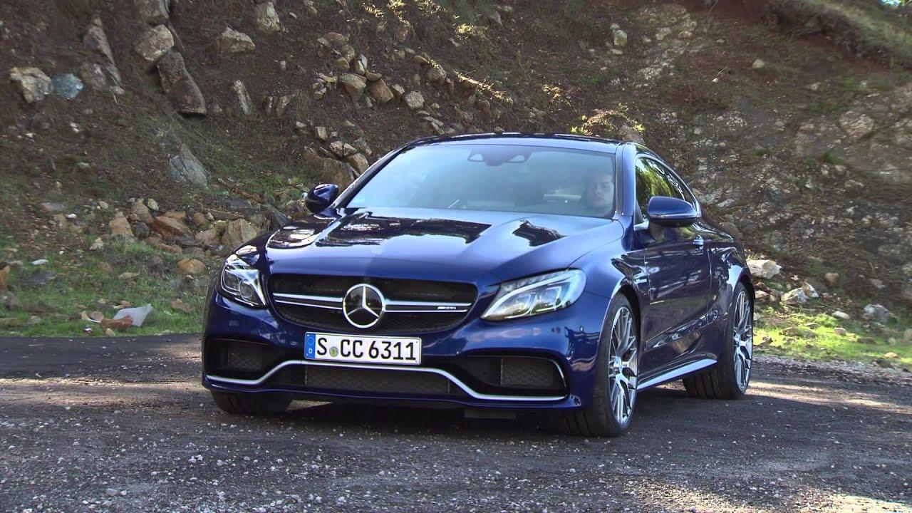 2017 Mercedes Amg C63 S Coupe Cavansite Blue Costa Del