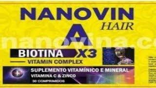 RESENHA NANOVIN A HAIR - KRINA DE CAVALO