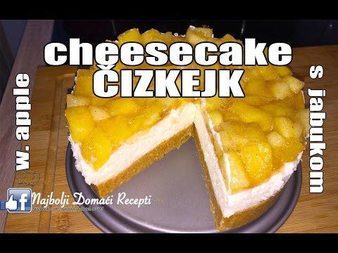 RECEPT: ČIZKEJK sa jabukom (KAKO SE SPREMA CHEESECAKE) sa pripremom i sastojcima