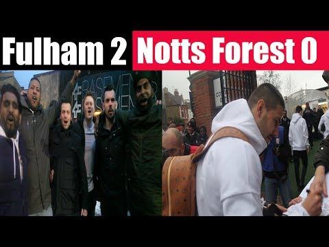 Fulham 2 Nottingham Forest 0 | absolutely ecstatic | Fulham FC fans