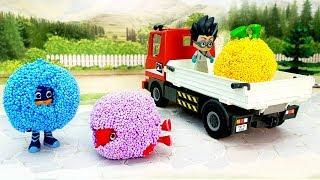 Мультики - Развивающие видео для детей с игрушками - Ромео шарик!