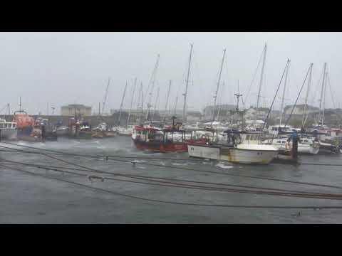 Storm Ophelia Kilmore Quay Ireland