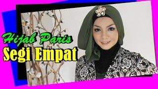 Hijab Tutorial Paris Segi Empat Simple #by Revi 204