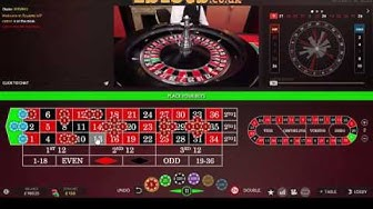 More Live Online Roulette - £300 starting stack - High stakes :)