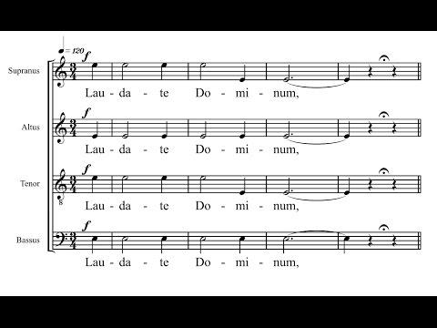 Laudate Dominum - Nobuaki Izawa
