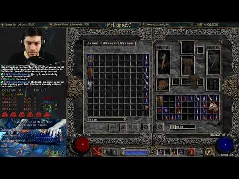 Diablo 2 - HELL HC PALADIN RACE