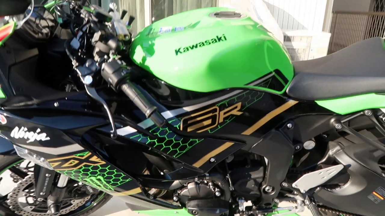 Nova Kawasaki ZX-6R 2020 KRT Edition SC Project CR-T