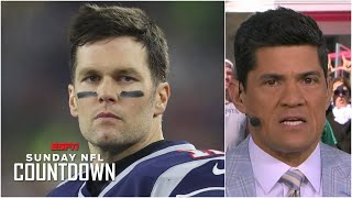 Tom Brady will eventually end up back with the New England Patriots - Tedy Bruschi | NFL Countdown