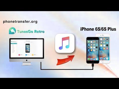 Wie Sie Musik von Ihrem Computer auf iPhone 6S/6S Plus übertragen