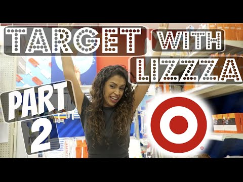 I BOUGHT THE STORE. TARGET WITH LIZZZA! PART 2 | Lizzza