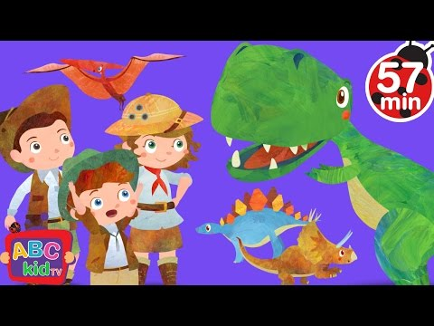 Dinosaurs Song | + More Nursery Rhymes & Kids Songs - ABCkidTV