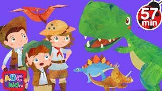 Dinosaurs Song (2D)   +More Nursery Rhymes & Kids Songs - CoCoMelon