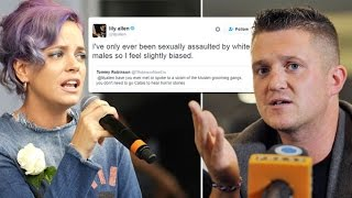 Tommy Robinson Responds to Lily Allen