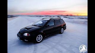 Турбо Универсал с расходом малолитражки! Toyota Caldina GT-T ТУРБО НА ГАЗУ