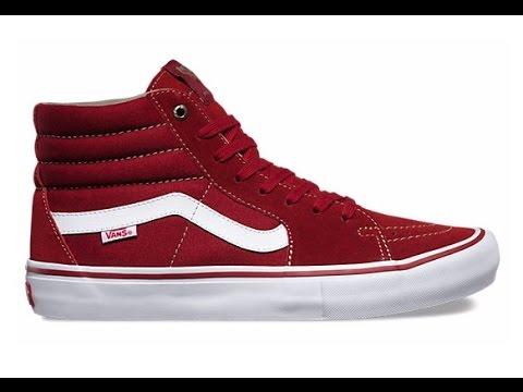 536d348c769 Shoe Review  Vans Sk8-Hi Pro (Red Dahlia White) - YouTube