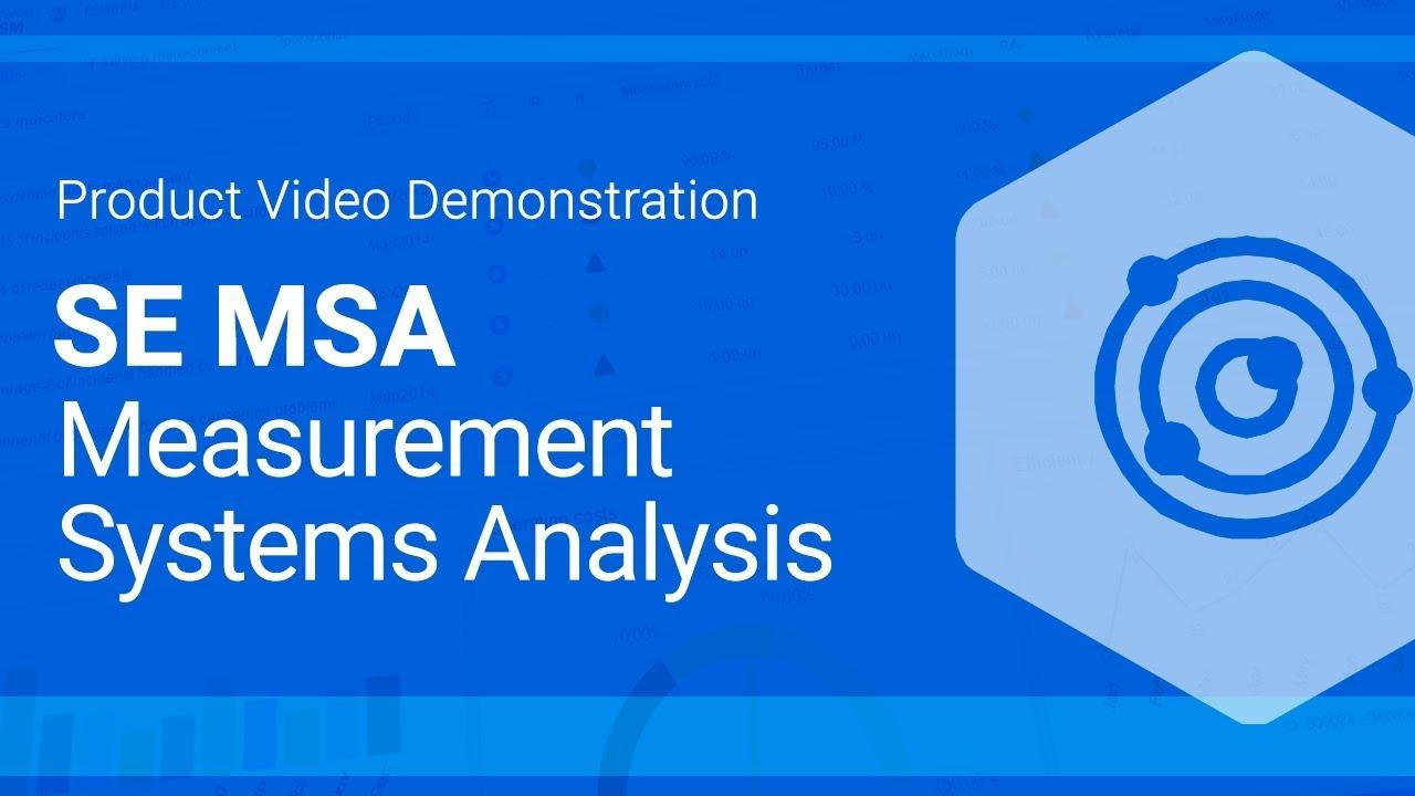 Measurement Systems Analysis Software | SoftExpert MSA