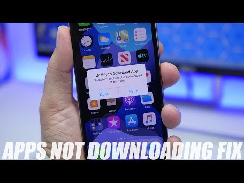 IPhone Apps Not Downloading - How To FIX It !