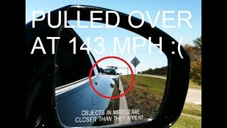 Cops pull over Nissan GTR at 143 mph in Texas